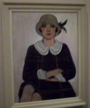 Flapper (1925) by Australian painter Margaret Preston